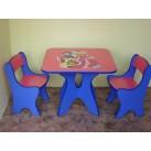 Table Chairs Cartoon